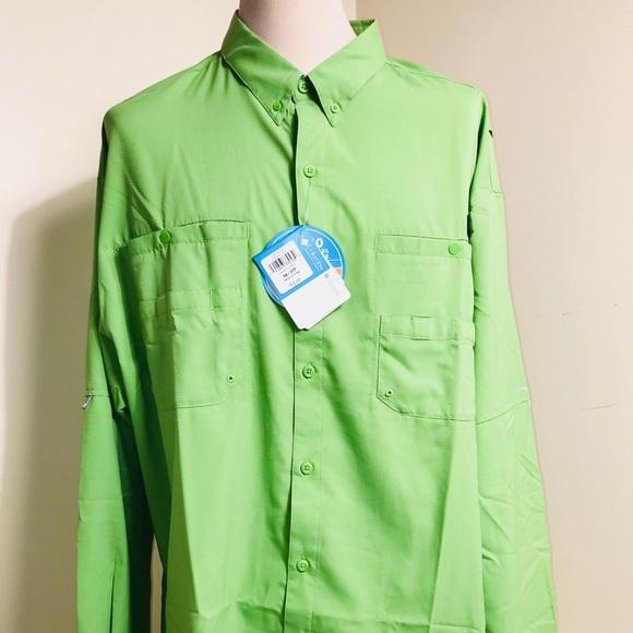 97cd7802dad Columbia Shirts   New Mens 3xl Pfg Tamiami Omnishade Shirt   Poshmark